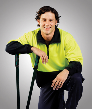 F85 Hi Vis Fleecy Jumper