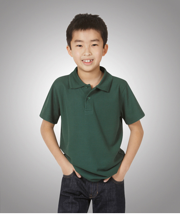 P01K Premium Poly Cotton Fine Pique Polo Children