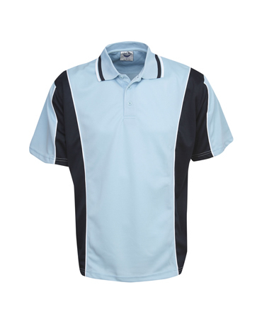 P43K Cooldry Contrast Panel Polo Children