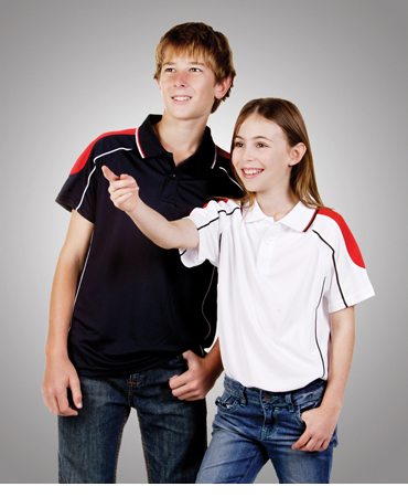 P44K Coolfast Shoulder Panel Polo Children