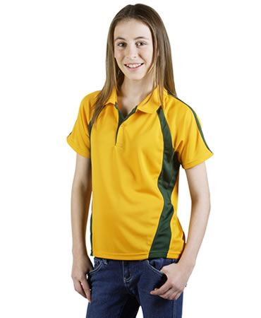 P45K Coolfast Mini-Waffle Polo Children
