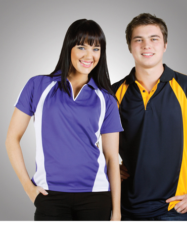 P48 Coolfast Mini-Waffle Polo Ladies