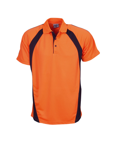 P88K Childrens Hi Vis Coolfast Mini Waffle Polo
