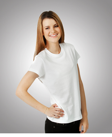 T07 Ladies Eurostyle Soft-feel Slim Fit T-shirt