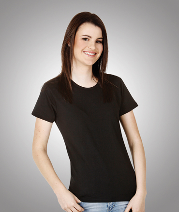T24 Ladies Round Neck Cotton Lycra Tee