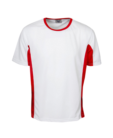 T42K Cooldry Contrast Panel T-shirt Children