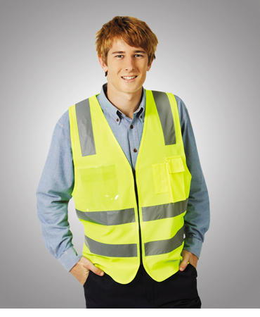 V85 Executive Day Night Vest with zip closure